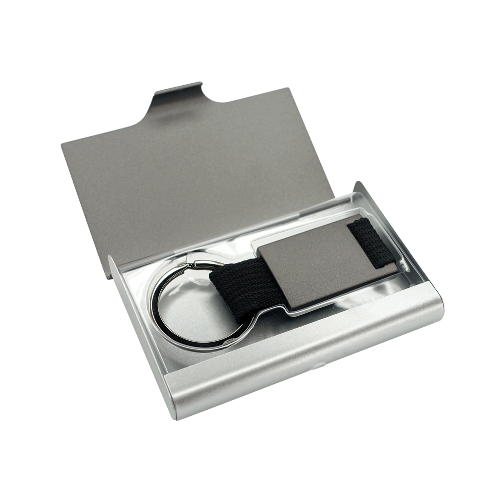 Pinemax business card cases aluminum business card for Keychain business cards