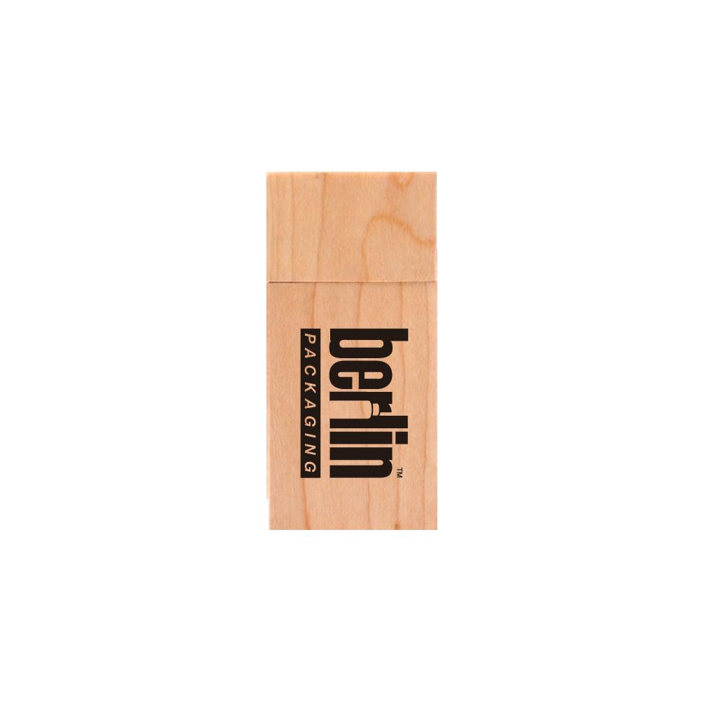 Bamboo Eco-Friendly Rectangular USB Drive