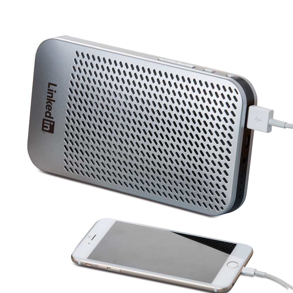 Harper Wireless Speaker + Power Bank