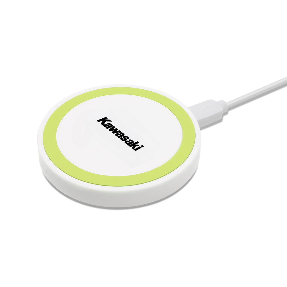 Puck - Wireless Charging Pad - Light Green