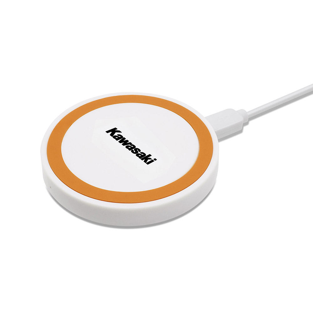 Puck - Wireless Charging Pad - Orange