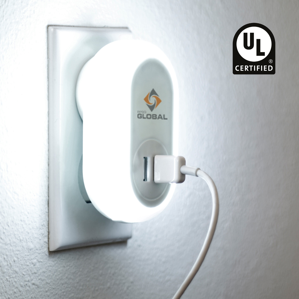 Brea - Night Light UL Charger