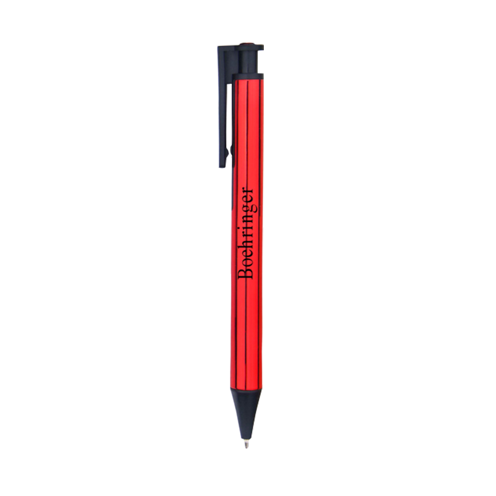 Straight Heavy Plastic Pen