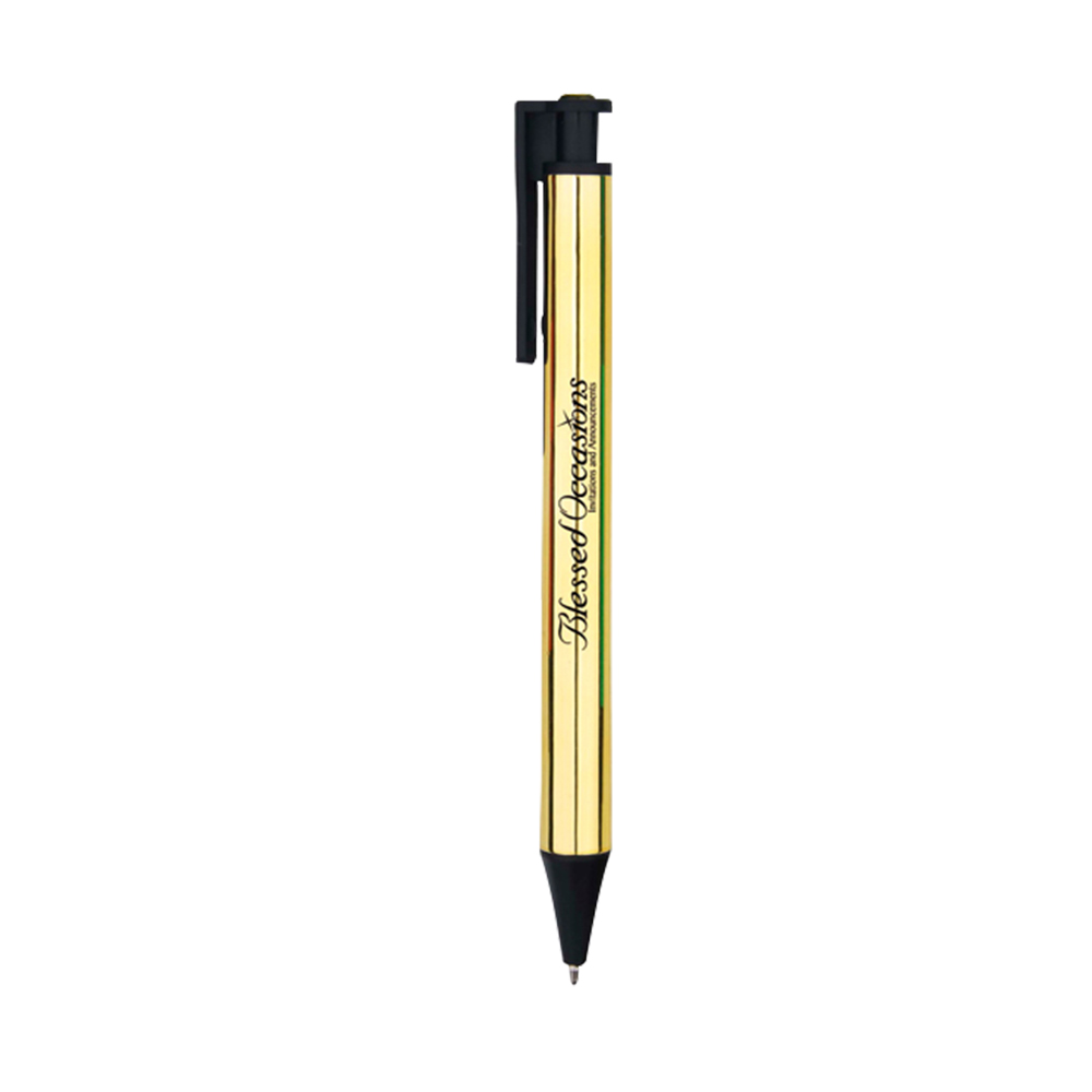 Straight Heavy Plastic Pen