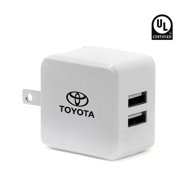 2 Port 2.1A UL Certified USB Wall Adapter